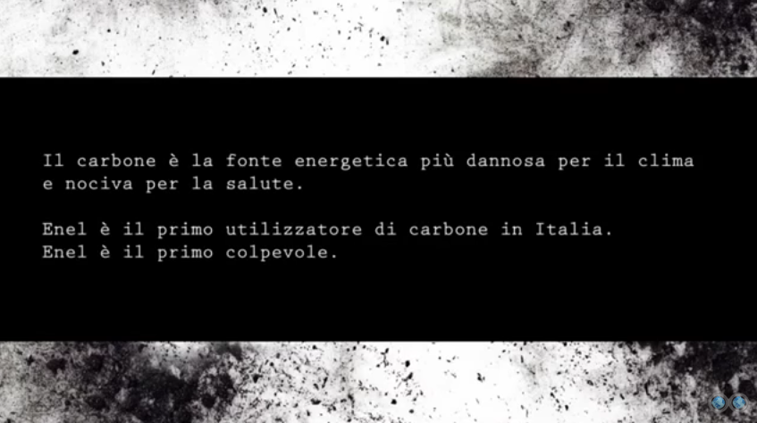 Enel video di greenpeace