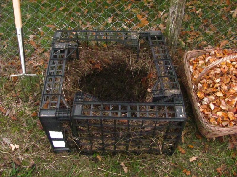 Nero compost la natura si veste elegante for Costruire compostiera